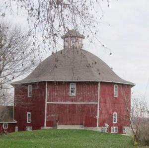 Secrest 1883 Octagonal Barn West Liberty Iowa Rustic