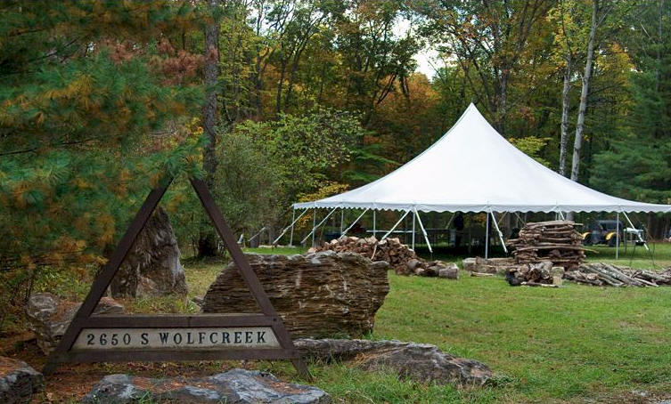 Outdoor Weddings Indiana Columbus In Rustic Wedding Guide