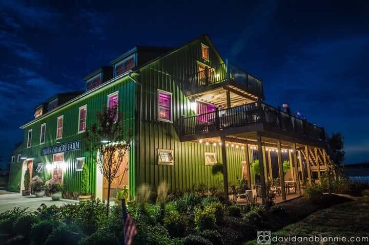 Thousand Acre Farm Middletown De Rustic Wedding Guide