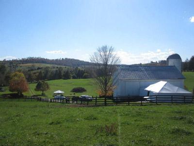 Willow Creek Farm Bridgewater Va Rustic Wedding Guide