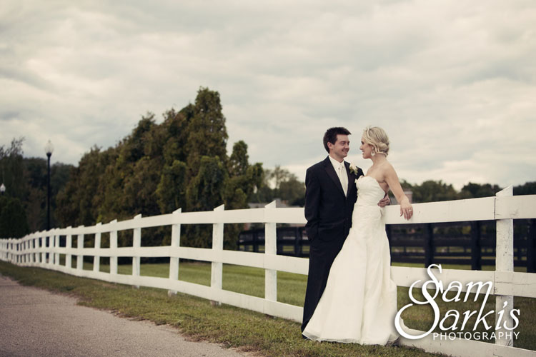 An Outdoor Wedding Ceremony At London S Hunt Club: Bloomfield Open Hunt Club