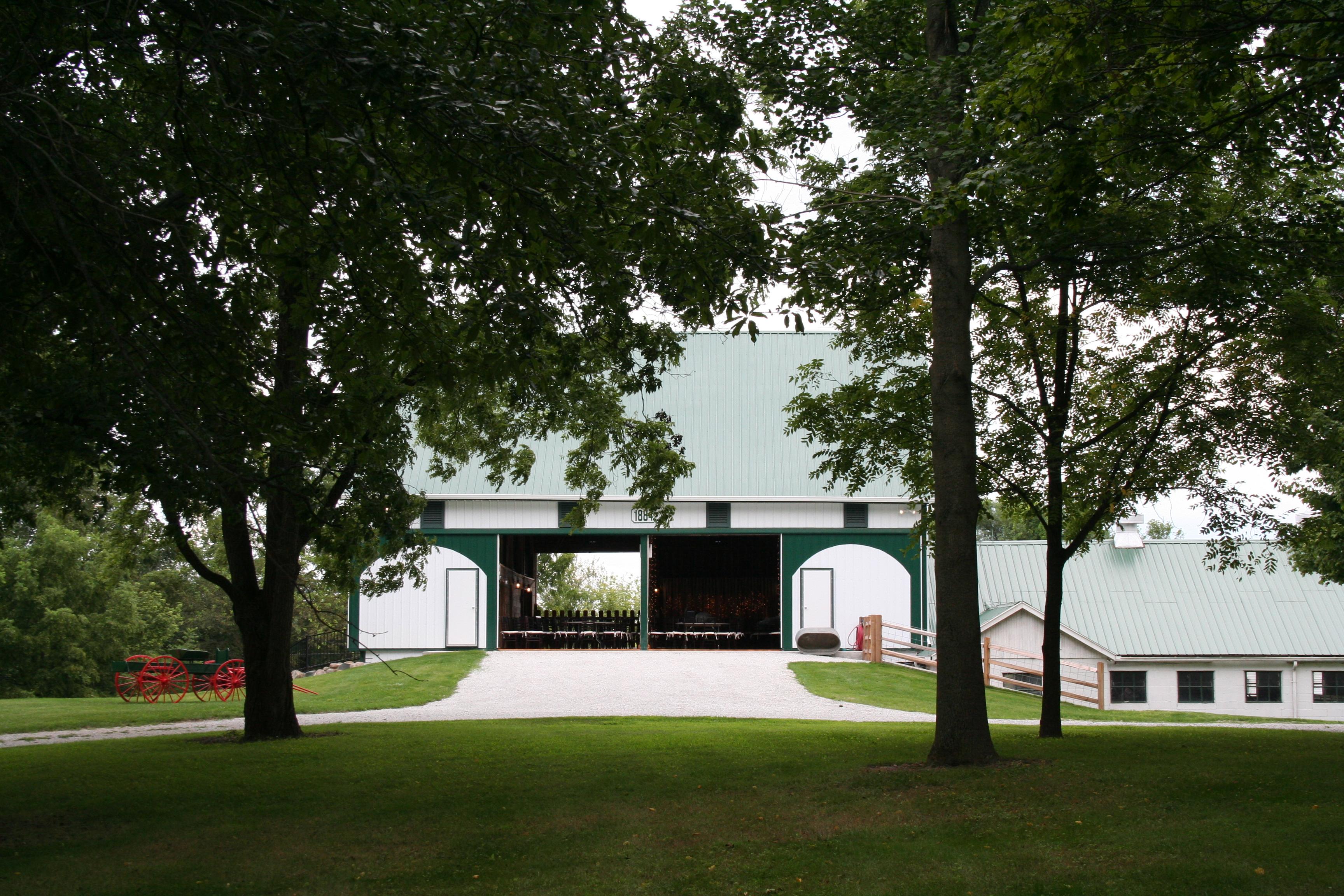 legacy barn at leafy lane farm   kokomo in   rustic