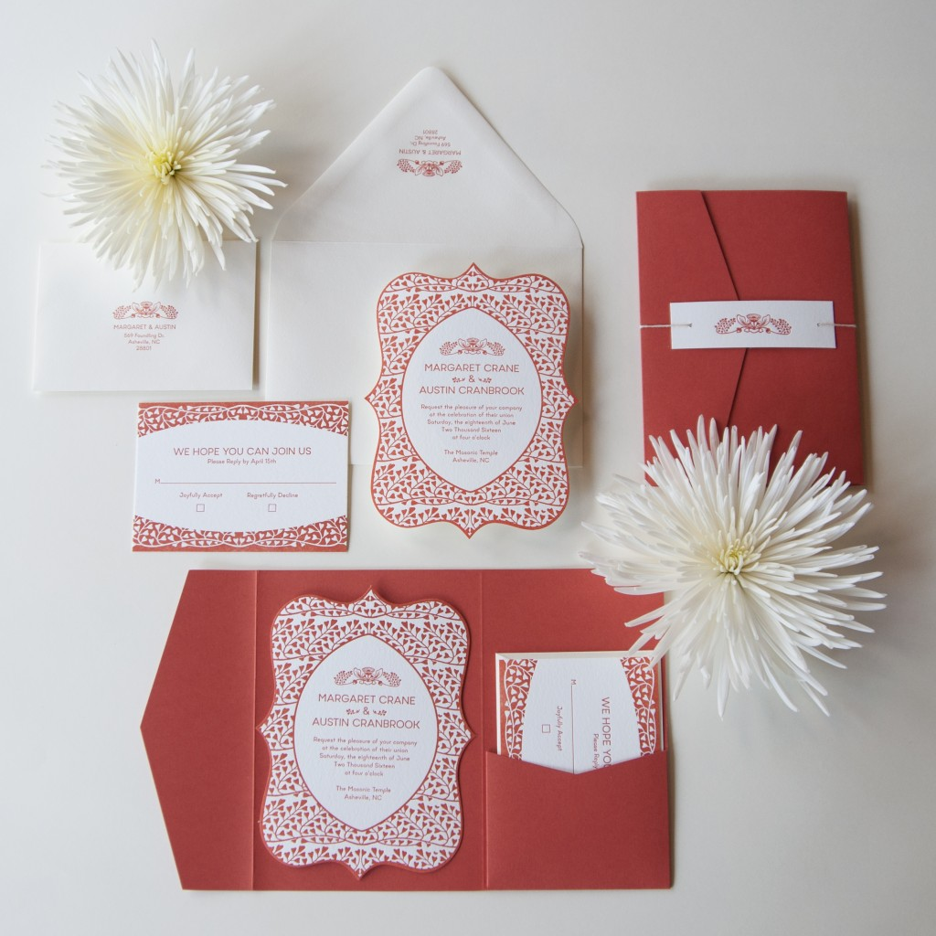 7 Ton Design and Letterpress Co. - Asheville NC - Rustic Wedding Guide