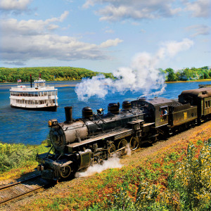 Essex steam train and riverboat review