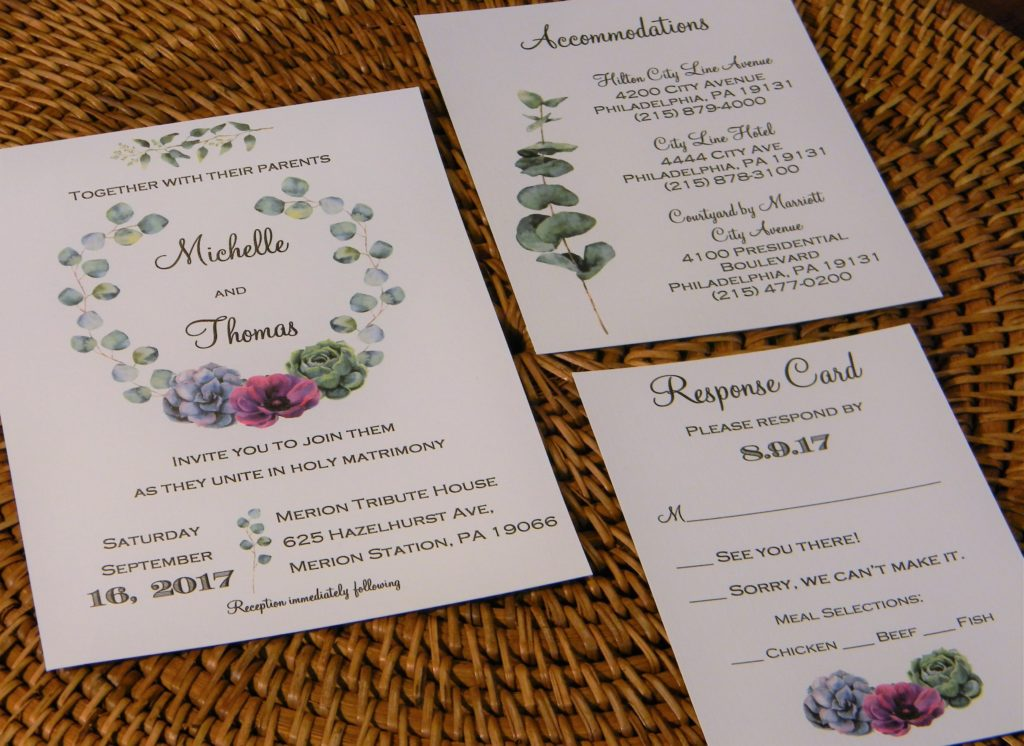 Invitations by Jill - West Chester PA - Rustic Wedding Guide