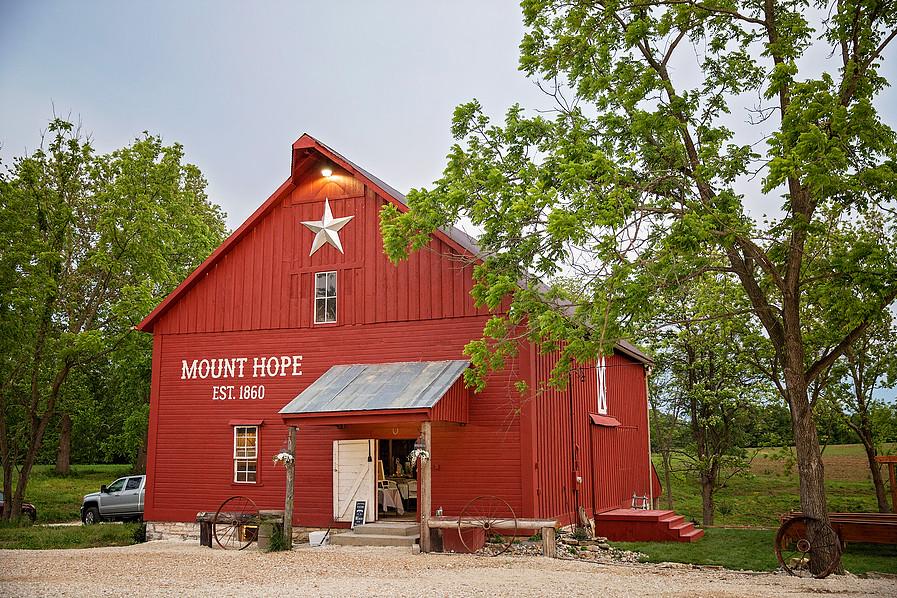 Mount Hope Barn Weddings Illinois - Michael IL - Rustic ...